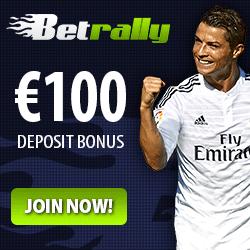 Betrally 100€ bonus